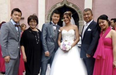 亀田和毅の嫁は元ボクサー