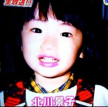 北川景子の幼少期