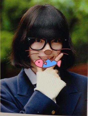 きゃりーぱみゅぱみゅの高校卒業アルバム