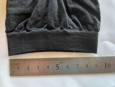グラマラスパッツ の裾