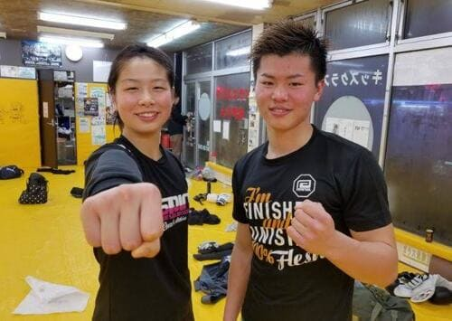 浅倉カンナと那須川天心